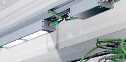 phoenix contact presenteert led machineverlichting met gentegreerde optica